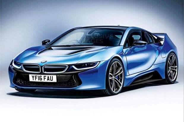 BMW собирается представить 700-сильный суперкар
