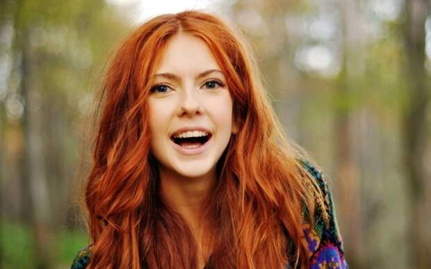 Рыжие волосы волосы, гены, глаза, девушки, интересное, мутации, фото