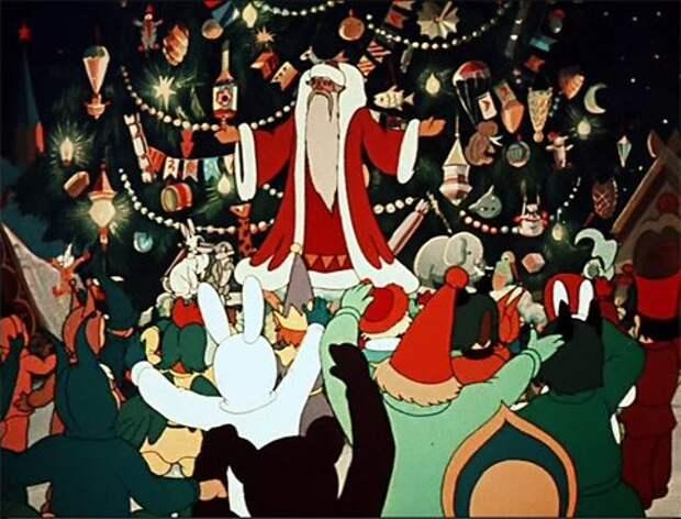 Новогодние мультфильмы - Новогодняя ночь