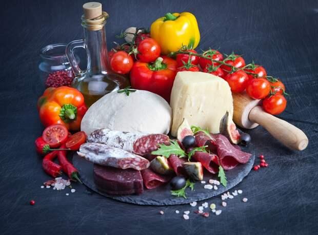 салаты итальянской кухни