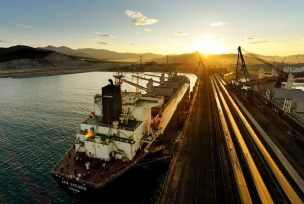 Грузооборот морских портов России за 2020 год сократился на 2,3%