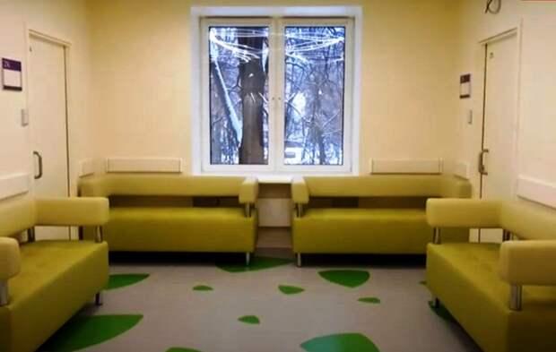Видео: детская поликлиника на бульваре Яна Райниса отремонтирована