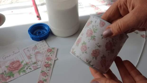 Крутая идея использования жестяных банок: практичный результат, способный стать акцентом