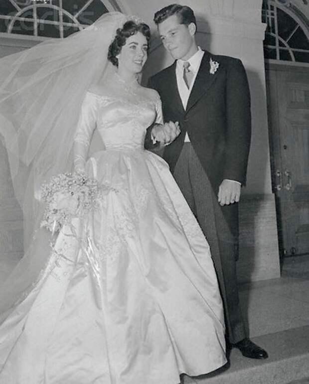 Первая свадьба Элизабет Тейлор (18 фотографий), photo:5