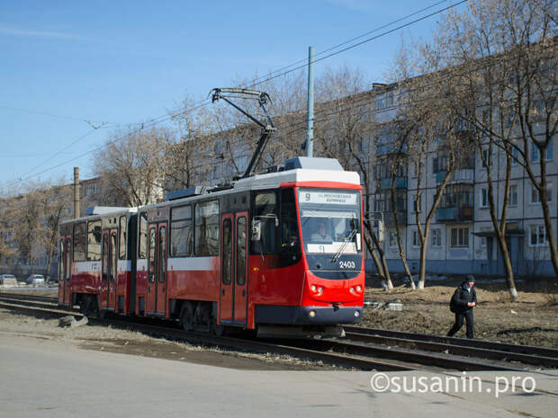 В Ижевске запустят дополнительные трамваи и троллейбусы