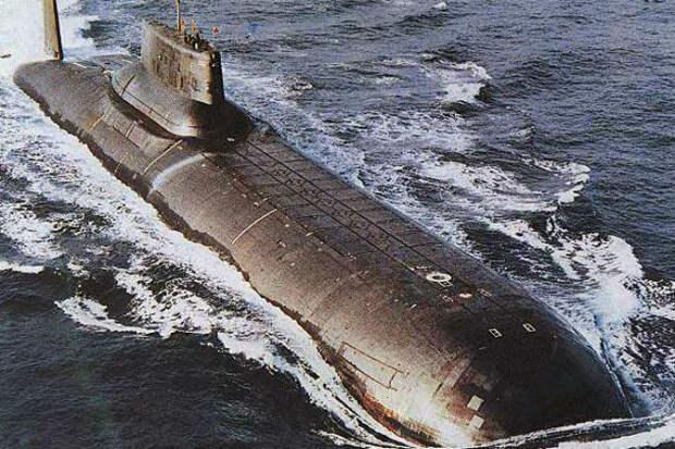 Самая большая субмарина на планете: проект Акула