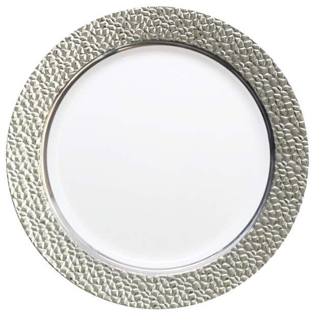 Тарелки с металлическими ободками. Помещать в микроволновую печь металл – верный путь к пожару, даже если он лишь слегка нанесён на ободок симпатичной тарелки. Безопасность – превыше всего.