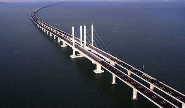 Топ самых длинных мостов в мире