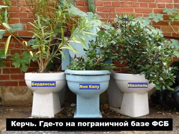 В России намерены отправить Украине посылку из унитазов