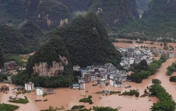 Наводнение в Китае 2020 (18 фото)