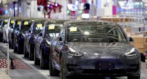 За год в Китае количество поставленных на учёт электрокаров Tesla увеличилось в 3 раза