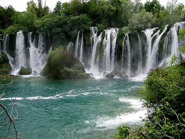 балканские страны водопады