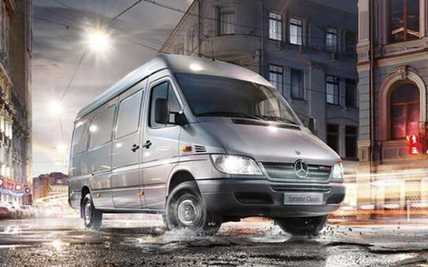 В России отзывают фургоны Mercedes-Benz
