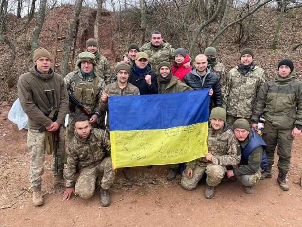 Партия Медведчука похвасталась помощью боевикам АТО