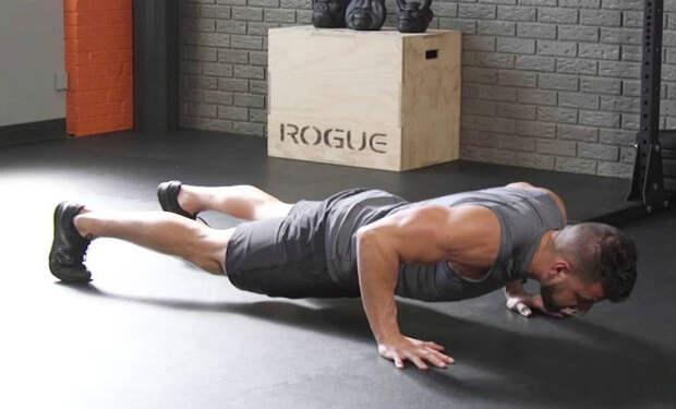 Тренировка всего тела за 1 день: сложнейшие отжимания