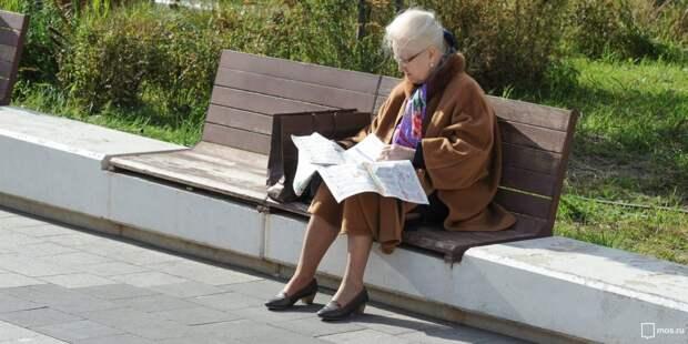 Пенсионеров из Лосинки избавили от негативных мыслей