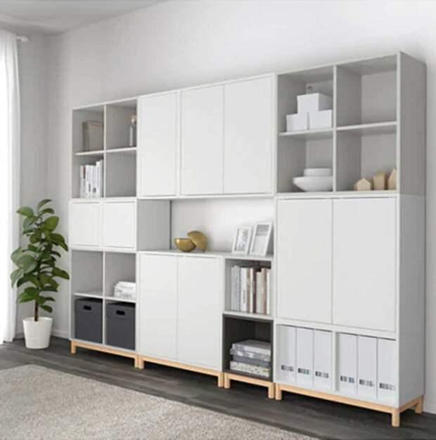Полки IKEA: умные идеи для оригинального декора