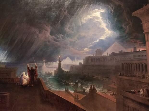 Почему Всемирный Потоп залил землю Сибири кипятком, а не дождем?
