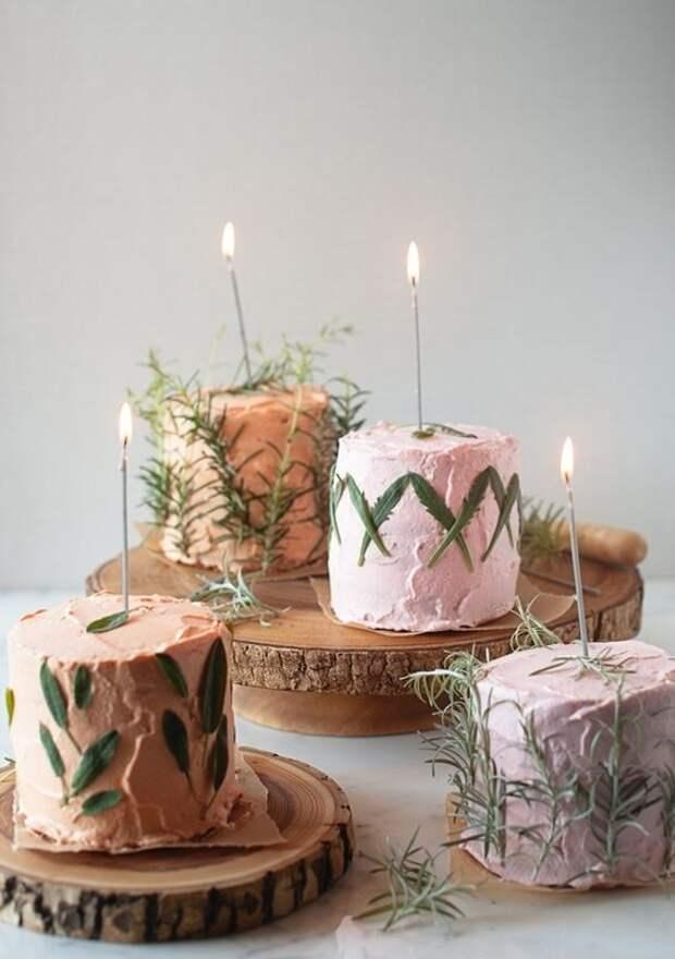 Закусочные тортики