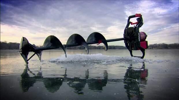 Чем можно прорубить лед для зимней рыбалки?