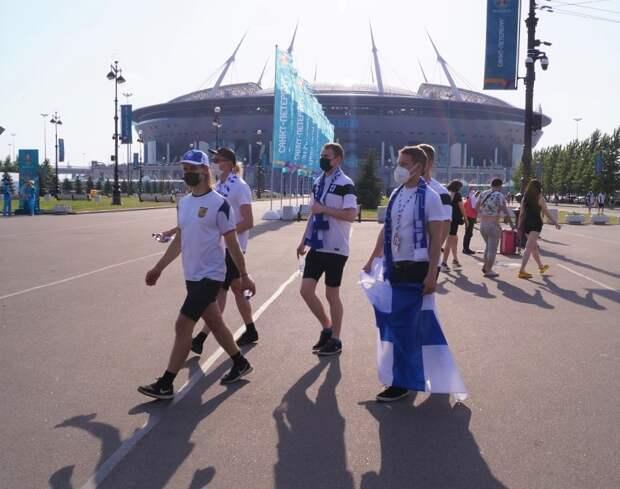 Иностранные болельщики поделились прогнозами на матч Финляндия — Бельгия