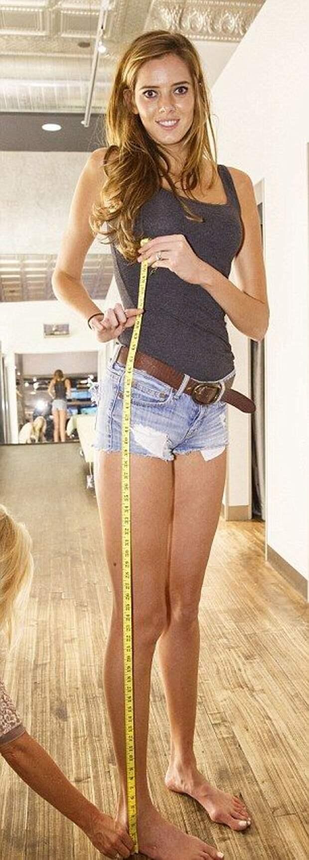 Самые длиные ноги Америки (США)!?