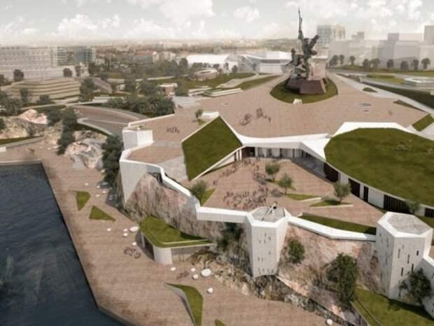 Парк в районе мыса Хрустальный