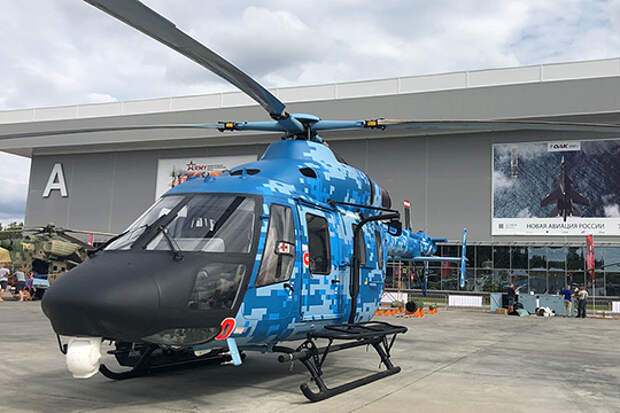 На «Армии-2018» казанские вертолетостроители «традиционные ценности» Ми-8МТВ-5 дополняют новшествами «силового» «Ансата»
