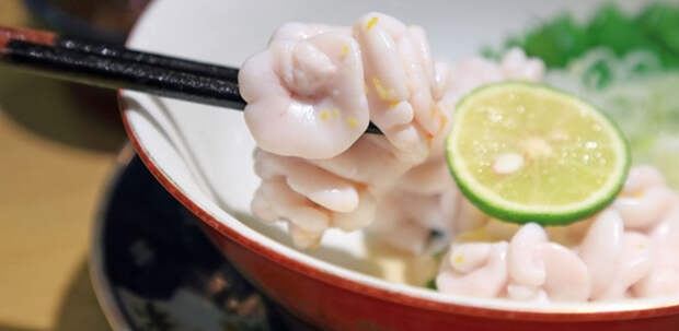 Блюда японской кухни, от которых у вас пропадет аппетит