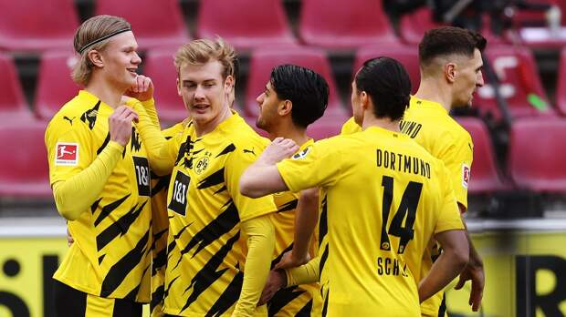 Дортмундская «Боруссия» одержала победу над «Унионом» в Бундеслиге