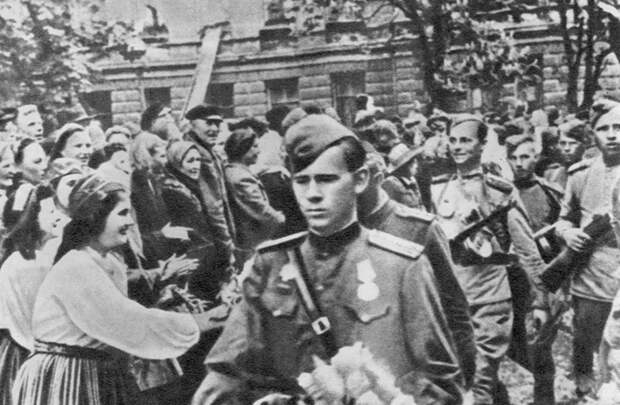 Освобождение Прибалтики
