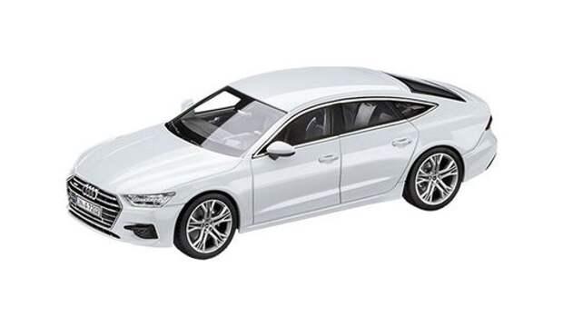 Новый Audi A7 Sportback - пока в виде сувенирной модельки