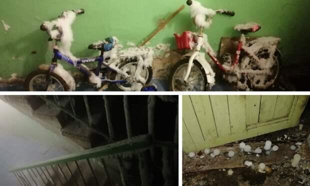 Пока выспали: жители дома наокраине Архангельска уже десять дней добиваются срочного ремонта теплотрассы