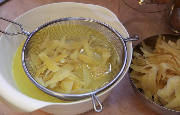 выпечка с лимонным ликером
