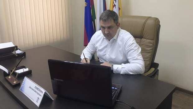 Дмитрий Ламейкин во время приема разбирался в трудовых отношениях краснодарцев