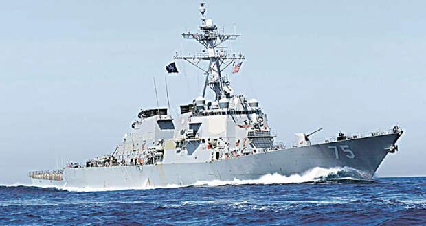 Как аборигены встретят «Кука». Каждый из американских эсминцев несет до 56 крылатых ракет «Томагавк»