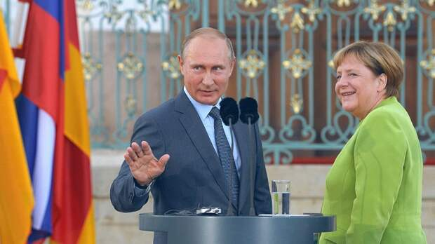 Знаковое приглашение Путину от Меркель стало «зарницей» Европы без американцев