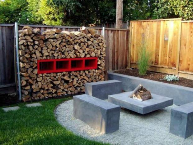 Гарнитур из бетона. | Фото: Сделай сам.
