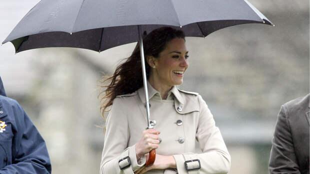 Лучшие образы Кейт Миддлтон для дождливой и снежной погоды