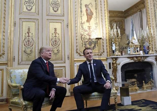 США, Франция и бессилие личной химии