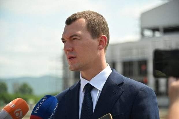 В Заксобрание Хабаровского края внесли закон, запрещающий Дегтяреву становиться губернатором