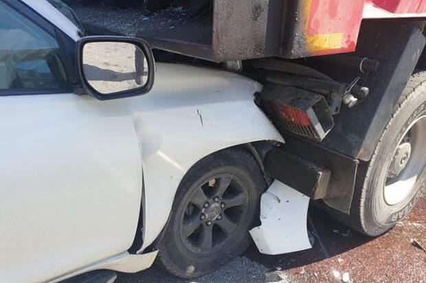 В ДТП на Кубани пострадали три человека