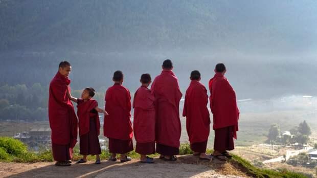 Новопостриженные монахи