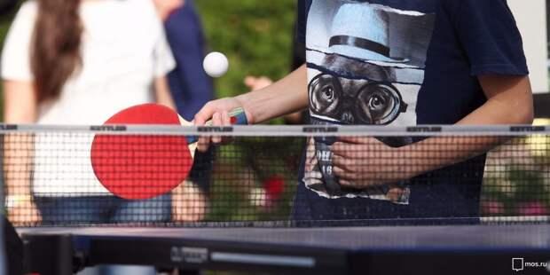Корты для игры в теннис на Ходынке будут доступны до первых холодов