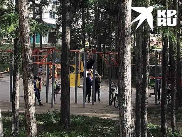 Саянцы на радостях от освобождения вовсе не перезаражали друг-друга! Фото: Владимир ВОРСОБИН