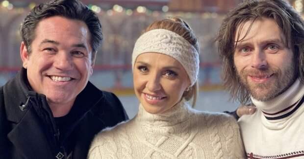 Навка и муж Заворотнюк снялись в американском фильме о России