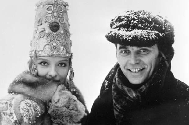 Элем Климов и Лариса Шепитько на съемках фильма «Спорт, спорт, спорт».