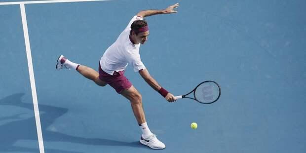 Федерер заплатит 3 тыс. долларов за ругательства на Australian Open