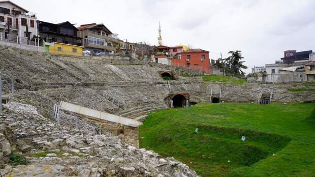 Путешествие в Албанию. Часть 18. Дуррес