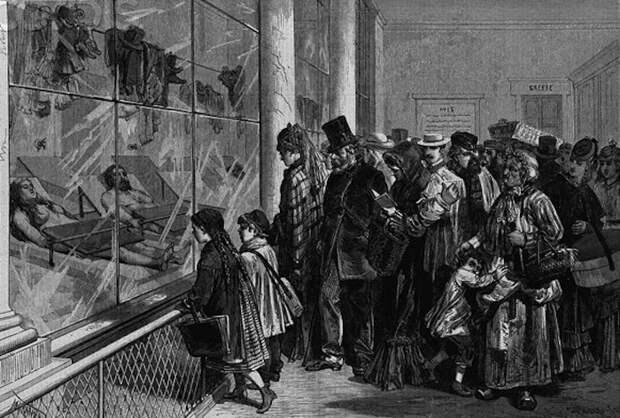 Почему морг стал любимым местом для встреч и прогулок у жителей Парижа XIX века